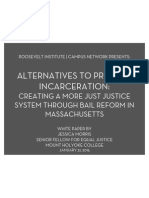 Alternatives to Pretrial Incarceration
