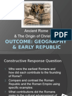 rome geography & early republic notes 2014
