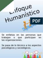 Enfoque Humanístico