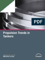 Propulsion Trends in Tankers