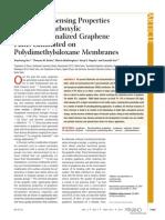 An Et Al. - 2011 - Optical and Sensing Properties Films Laminated on Polydimethylsiloxane Membranes