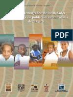 Población Afro en Oax
