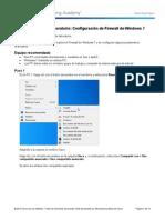 Practica Configure a Windows 7 Firewall