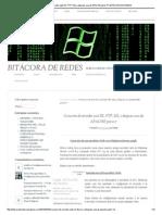Creacion de Servidor Web IIS, FTP, SSL y Despues Una de APACHE Parte 1ª _ BITÁCORA de REDES