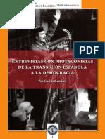 Entrevistas Con Personajes de La Transicioìn EspanÞola