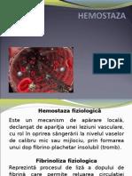 HEMOSTAZA 1+2 FMAM