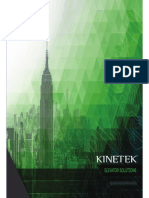 kinetek elevator solutions may 2014
