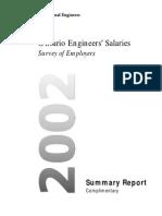 2002 Ontario Salary Report