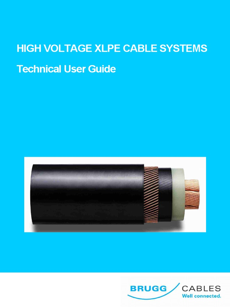 Brugg Cables User Guide | Cable | Electrical Conductor