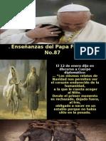 Enseñanzas Del Papa Francisco - Nº 87