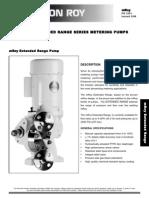 Milton Roy Metering Pumps PL1999