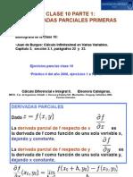 Derivadas Parciales, Matriz Jacobiana & Derivadas Superiores
