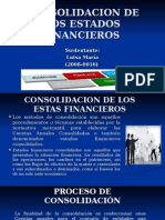 Consolidacion de Los Estados Financieros-nuevo