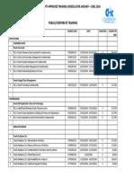 Oracle University Training Schedule_jan - Jun 2014 - Pub_corp