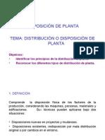 3. Disposición de Planta
