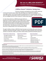 SAMHSA and the Million Hearts Initiative