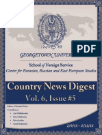 CERES News Digest Vol. 6 Week 5; Feb. 9 - 13
