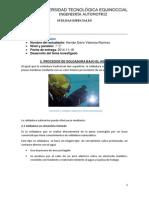 Procesos de Soldadura Bajo El Agua