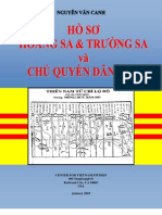 HỒ SƠ HOÀNG SA & TRƯỜNG SA và  CHỦ QUYỀN DÂN TỘC - GS NGUYỄN VĂN CANH