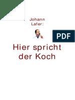 Johann Lafer - Hier Spricht Der Koch