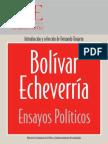 Bolivar_Echeverria_Libro Pensamiento Politico 1