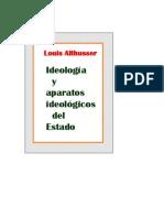 Althusser Louis Ideologia y Aparatos Ideologico