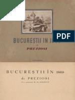 Bucurestii in 1869-Preziosi