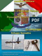 318_Aeronautica Militare Aeromobili a Pilotaggio Remoto Presente e Futuro in AM