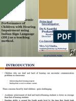 Deaf Education Academic
