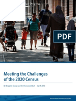 Meeting the Challenges of the 2020 Census