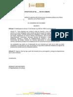 Proyecto de Ley 85 de 2014 Edad de Retiro Forzoso