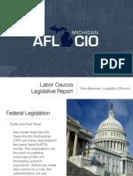 Labor Caucus Legislative Report 2015