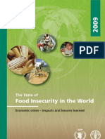 Food in Security in the World 2009