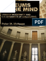Peter M. Mcisaac Museums of the Mind German Modernity and the Dynamics of Collecting 2007