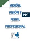Carátula Misión, Visión y Perfil Prof