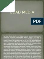 Edad Media Diapositivas