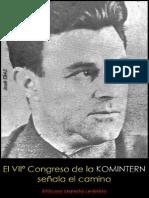 José Díaz; El VIIº Congreso de la Komintern señala el camino; 1935.pdf