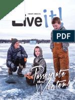 Feb./March edition of Live it Magazine