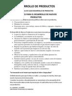 Resumen Capitulo VIII Desarrollo de Productos