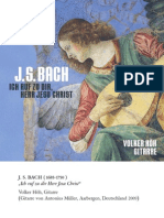 BACH, J.S.- Guitar Arrangements (I call to Thee, Lord Jesus Christ) (Höh)