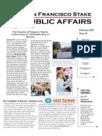 SF Stake Public Affairs February 2015 Newsletter