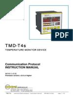 TMD-T4s Communication Protocol IM148-U v0.92
