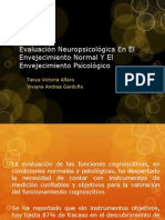 Evaluación Neuropsicológica en El Envejecimiento Normal Y El