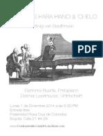 Beethoven en La Fraternidad