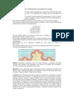 Cálculo de La Dimensión Fractal Mediante Box Counting