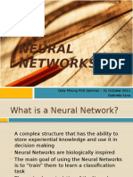 Neural Networks - Presentation