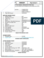 Checkliste Piper Archer II