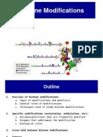 Histone Modifications12