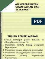 Asuhan Keperawatan Kebutuhan Cairan Dan Elektrolit