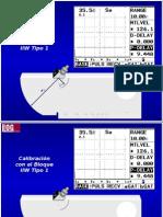Calibracion Bloque IIW Tipo 1